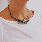 Veronica Pronz, collars , polseres i arecades, de tots colors i molt lleugers